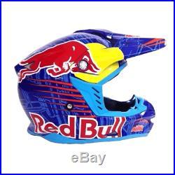 Motocross helmet REDBULL KTM blue