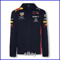 NEW 2019 RED BULL Racing F1 MENS Team Hoodie Hooded Jacket Verstappen OFFICIAL