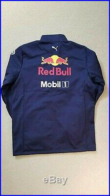NEW 2019 RED BULL Racing F1 MENS Team Soft Shell Jacket. Size Large