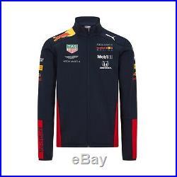 NEW 2020 RED BULL Racing F1 MENS Team Soft Shell Jacket Coat Verstappen OFFICIAL