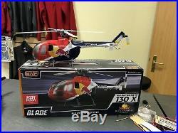 NEW Blade 130X Helicopter RED BULL BO-105 CB BLH3880 Heli Eflite