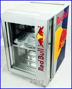 NEW IN BOX 2019 Red Bull Cooler Mini Fridge with LED Light Up Door