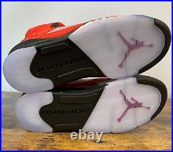 NEW Nike Air Jordan 5 Retro Raging Bull Red 440888 600 GS Size 4 Women's 5.5