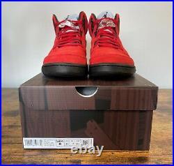 NEW Nike Air Jordan 5 Retro Raging Bull Red DD0587 600 Men's Size 8 Women's 9.5