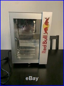 NEW Red Bull Energy Drink Baby Cooler 2020 LED Mini Fridge NEW