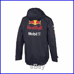 New! 2019 Red Bull Racing F1 Formula One Team Mens Rain Jacket Coat Waterproof