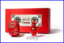 New CASIO G SHOCK x ACU x BE@RBRICK Red DW-5600CX-4PRP CHINESE YEAR 2019 PIG