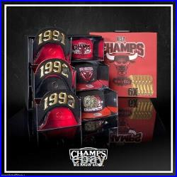 New Era Chicago Bulls Champ Pack 91-93 96-98 Limited Snapback Hat New out of 120