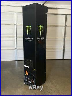 New Monster Energy Drink G11 Fridge Cooler Refrigerator Red Bull Rockstar Unique