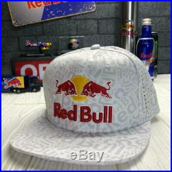 New NFS Athletes Only Red Bull Hat New Era Cap Rare white Allover 2020