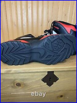 New Nike Air Darwin Rodman Chicago Bulls Red Black white AJ9710-001 Size 9.5 Men