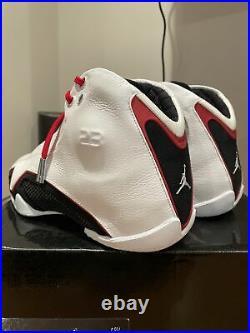 New Nike Air Jordan XXI 21 OG White Varsity Red Metallic Chicago Bulls 2006 Sz 9
