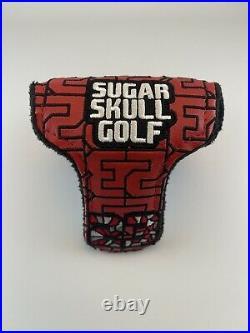 New Sugar Skull Golf Michael Jordan Bulls 23 Mosaic Mallet HeadCover SSG910215