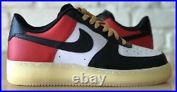 Nike Air Force 1 Low Men Chicago Bulls Red Black White Rare CT7875-994 US 10.5