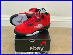 Nike Air Jordan 5 Raging Bull GS Toro Bravo 2021 440888-600 Size 3.5Y 7Y