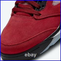 Nike Air Jordan 5 Raging Bull Retro Red Size 12 Toro Bravo 3M DD0587 600