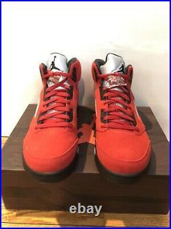Nike Air Jordan 5 Retro 2021 Raging Bull Toro Bravo DD0587 600 Size 12 In Hand