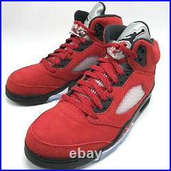 Nike Air Jordan 5 Retro Men's Shoes Raging Bull Red 2021 DD0587-600 size 8-13