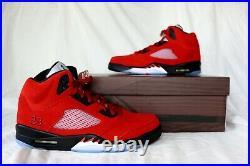 Nike Air Jordan 5 Retro Raging Bull 2021 DD0587-600 Size 8 8.5 9 9.5 10 10.5 11