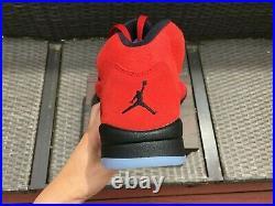 Nike Air Jordan 5 Retro Raging Bull Men's Size 8.5-14 DD0587-600 Red Black 2021