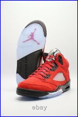 Nike Air Jordan 5 Retro Raging Bull Red 2021 Black DD0587-600 Men's/GS/PS Sizes