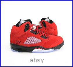 Nike Air Jordan 5 Retro Raging Bull Red 2021 Fire Red DD0587-600 Mens
