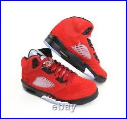 Nike Air Jordan 5 Retro Raging Bull Red 2021 Fire Red DD0587-600 Mens & GS