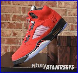 Nike Air Jordan 5 Retro Raging Bull Red Black DD0587-600 Size