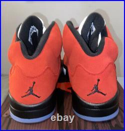 Nike Air Jordan 5 Retro Raging Bull Toro Bravo 2021 Size 10 DD0587-600 IN HAND