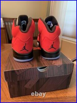 Nike Air Jordan 5 Retro Toro Bravo Raging Bull Size 9.5 New DD0587-600