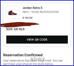Nike Air Jordan 5 Toro Bravo Chicago Raging Bull Mens Size 10 (IN HAND TOMORROW)