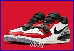 Nike Air Jordan Legacy 312 Low Chicago size 12.5. White Red Black. CD7069-106