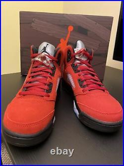 Nike Air Jordan Retro 5 Raging Bull 2021 440888-600 GS Size 6Y, 6.5Y, 7Y NEW
