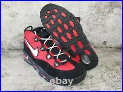 Nike Air Max Uptempo'95 CHICAGO BULLS BLACK RED CK0892-600 Men's Size 10.5