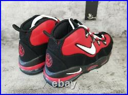 Nike Air Max Uptempo'95 CHICAGO BULLS BLACK RED CK0892-600 Men's Size 11.5