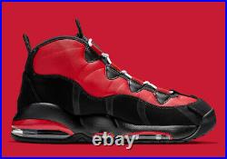 Nike Air Max Uptempo 95 CHICAGO BULLS BLACK RED WHITE CK0892-600 Scottie Pippen