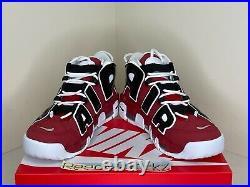 Nike Air More Uptempo'96 Hoops Pack 2021 Bulls Red White Black Mens 921948 600