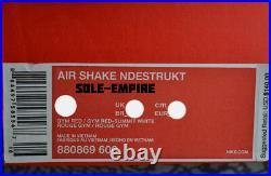 Nike Air Shake Ndestrukt 880869-600 Gym Red White Dennis Rodman The Worm BULLS