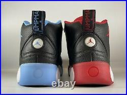 Nike Jordan Jumpman Pro UNC Bulls Mens Shoes Size 10 Black Red Blue CK0009-001