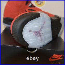 Nike air jordan 5 Toro GS size 6.5Y NEW 100% authentic FREE SHIP Raging Bulls