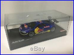 Not For Sale VERY Rare Kyosho MINI-Z Racer Body RedBull AUDI R8 Blue Metaric F/S