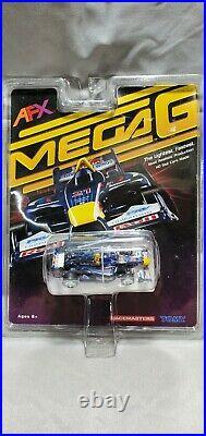 Original And New Tomy Afx Mega G Ho Slot Car, #21 Red Bull F-1, Blue/red/white