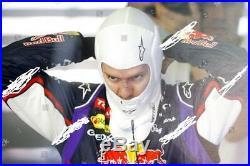Original Sebastian Vettel F1 Red Bull Racing 2014 BALACLAVA Sturmhaube RAR