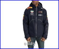 PUMA ASTON MARTIN RED BULL RACING Men's Team Rain Jacket SIZE L