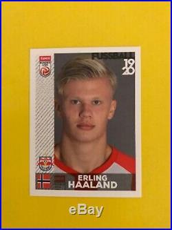 Panini Erling Haaland Rookie Sticker phenom Red Bull Salzburg nr 32