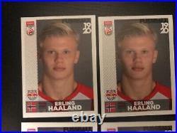Panini Haaland Erling 4x rookie red bull salzburg bundesliga 2019/20