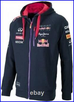 RED BULL F1 Jacket Official Racing Team Formula 1 2014 Pepe Jeans 100% Authentic
