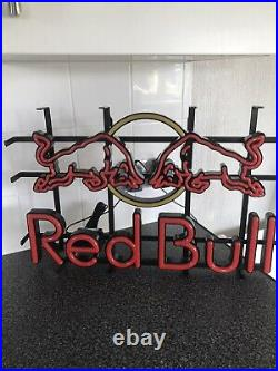 RED BULL LED Neon Wall Sign Light MAN CAVE / PUB