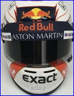 RED BULL RACING Max HELMET F1 12 Formula 1 Casco 1/2 Helmet Arai Test 19 ARAI