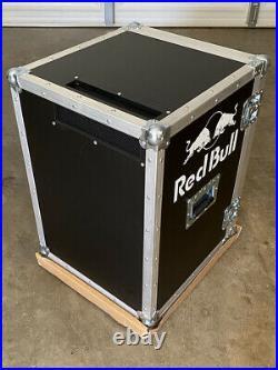 RED BULL ROAD CASE LIVE MUSIC COOLER BIG NIB Mini Fridge Refrigerator MONSTER